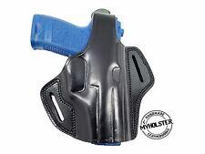 Heckler & Koch USP 9mm Right Hand OWB Thumb Break Leather Belt Holster