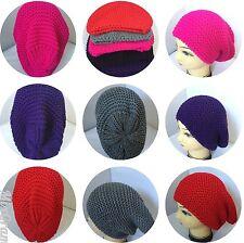 Netted Unisex Men Women Warm Winter Fashion Slouch Baggie beanie hats
