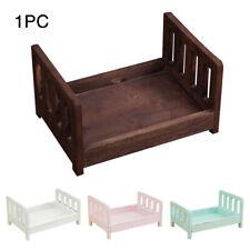 Wood Bed Newborn Infant Posing Baby Photography Studio Props Photo Shooting