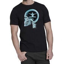 Djing On The Brain X-Ray Mens Music DJ Gift T-Shirt