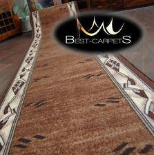 CHEMIN DE TABLE Tapis,moderne marron,anti-dérapant,moderne,Escaliers largeur