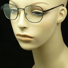 Clear lens glasses nerd geek fake men women retro vintage hipster frame style