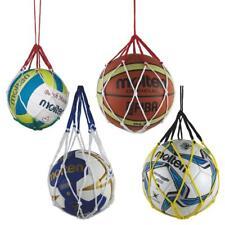 MOLTEN Palla Rete per 1 Ball Rete Basket Rete, Rete di Calcio, Pallavolo Rete