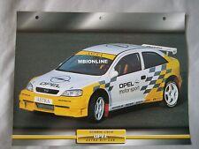 Opel Astra Kit Car Dream Cars Card