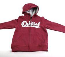 NWT OshKosh Boys Heritage Logo Hoodie Rust Red Sweatshirt...