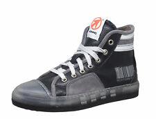 Momino 3750M coole winter Sneakers Chucks Leder Lammfell schwarz Gr. 33-41 Neu
