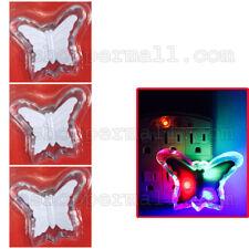 Multi-Color Butterfly Wall Socket LED Night Light Lamp Baby Kids Bedroom Decor