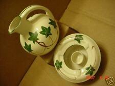 Vintage Teapot Coffee pot w/warmer Nasco Japan ceramic