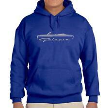1964 Ford Galaxie Convertible Classic Royal Blue Hoodie Sweatshirt FREE SHIP
