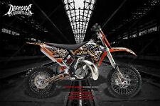 """WAR MACHINE"" GRAPHICS WRAP FITS KTM 2009-2015 50SX 65SX KTM65 KTM50 SX65 SX50"