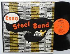 ESSO STEEL BAND with HUBERT SMITH Jr LP Your BERMUDA Souvenir CALYPSO