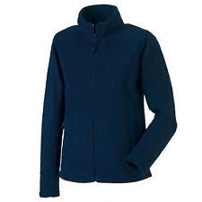 Russell Collection Womens Full Zip Outdoor Fleece Polyester Jacket Coats UK