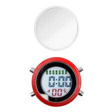 Mini réveil imperméable à l'eau auto-adhésif horloge numérique de
