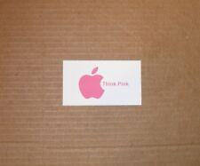 "Apple Logo ""Think Pink"" Refrigerator Magnet"