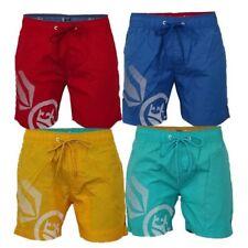 Mens Swim Shorts Crosshatch Trunks Ramirez Knee Length Mesh Beach Summer New