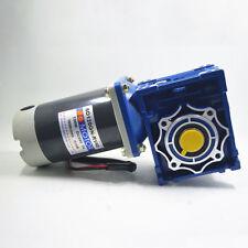 120W Worm Gear Reducer Gearbox Electric RV Gear Motor High Torque DC 12V/24V