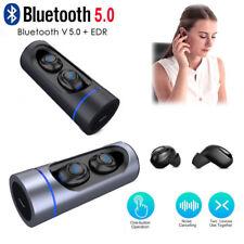 TWS Wireless Stereo Music Bluetooth 5.0 Earphones Earbuds Headphones for iPhone
