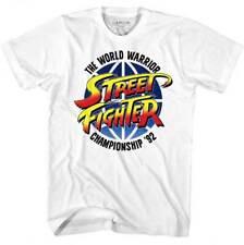 Street Fighter 92 World Warrior Championship Capcom Video Game Adult T Shirt