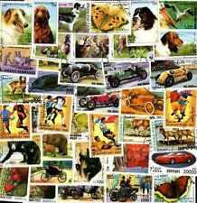 AFGHANISTAN collections de de 50 à 600 timbres différents