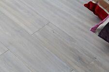 Hand Scraped, Smoked & White Oiled Engineered Flooring 1900x190x20/6mm EO2011