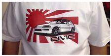 Honda Civic Hatchback JDM EF EF9 88-91 Japan japanese flag t-shirt white rare