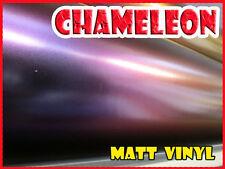 Chameleon mate azul, púrpura 1 Metro X 1.52 Medidor De Aire Libre Rotulación De Vinilo