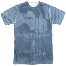 Elvis Presley Jailhouse Poster Sublimation Licensed Adult T Shirt
