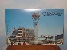 Expo 67 Postcard Pavilion of France Mint