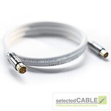 HDTV Cavo antenna 5x schermato max 135dB Classe A+ DVB-C CIAO-ANCM01 0,75-20m