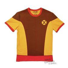 Wolverine Brown Costume X-Men Marvel Comics Premium Licensed Adult T Shirt
