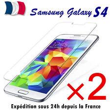 Samsung Galaxy S4 lot-2 film de protection vitre protecteur d'écran VERRE TREMPE