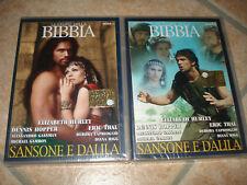 2 DVD LE STORIE DELLA BIBBIA SANSONE E DALILA PARTE 1-2 OPERA COMPLETA