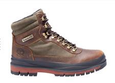 New Timberland Men's Field Trekker Waterproof Boot (A1X6W)  Brown Full Grain