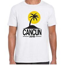 Cancún 2018 para hombre Camiseta de Palma de destino de vacaciones