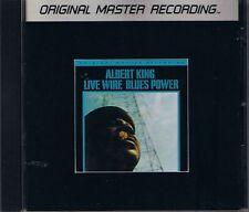King, Albert Live Wire/Blues Power MFSL SILVER CD RAR