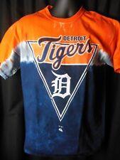 Detroit Tigers Men's Majestic Tye Dyed Tee Shirt