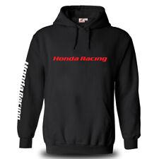 Genuine Honda Biker Motocycle Racing Freestyle Motocross SBK Black Hooded Hoodie