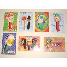 set of 7 PEZ Postcards