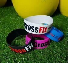 Pulseras Fitness Crossfit Silicona Wristband Bracelet