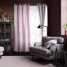 Room Darkening Blackout Curtain Door Window Tie Backs Stripe Curtain Drape