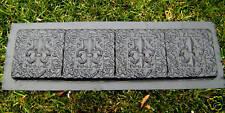 Gostatue plastic mold  bench top or paver concrete plaster mould
