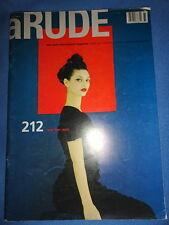 aRUDE # 9 1998 Janelle Fishman Bebe Miller New York Issue Art Coco Chanel