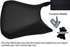 BLACK CUSTOM FITS APRILIA RS125 RS 125 06-10 LEATHER SEAT COVER