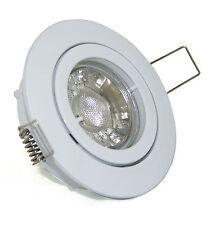 230V LED 7W = 52W Decken Einbaustrahler Bajo rostfrei inkl Leuchtmittel GU10