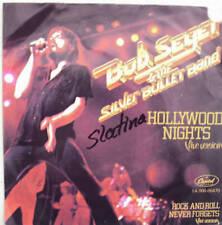 """7"""" BOB SEGER & THE SILVER BULLET BAND  Hollywood Nights"""
