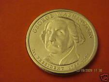 2007-D BU Mint State (George Washington) US Presidential One Dollar Coin