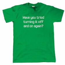 Hai provato trasformandolo OFF Divertente T Shirt da uomo-computer lo sviluppatore WEB