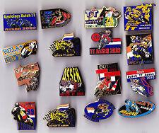 enamel TT ASSEN Motorcycle Motor Moto Races Tourist Trophy pin badge