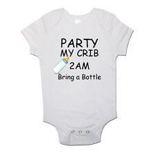 Festa at My Lettino 2am Portare Bottiglia Bimbo Bambino Body Neonato body bebè