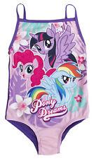 My Little Pony Swimming Costume Girls MLP Swimsuit One Piece Rainbow Dash Size